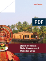 Study of Kerala State Gov Website