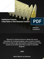 Intelectual Property - A Key Factor in New Business Creation