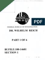 Wilhelm Reich - FBI Files 1