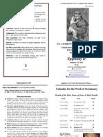 Bulletin 2012-01-15