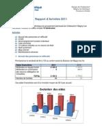 Rapport activité 2011