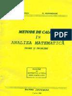 Metode de calcul in analiza matematica, de C.Dumitrescu, F.Smarandache
