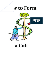 How To Form A Cult - Msgr James A Beohm
