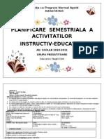5-Planificare semestriala