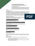 1 Introducción de conceptos de diseño de red