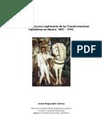El Positivismo Discurso Legitimante de las Transformaciones Capitalistas en México 1857-1910
