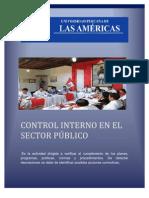 Trabajo c.i. en El Sector Publico