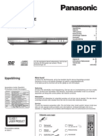 Panasonic DVD S35EG S