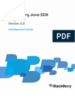 Blackberry Java SDK Development Guide 1244681 0730085420 001 6.0 US