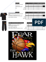 Jeannette Basketball Order Form Fear the Hawk 2