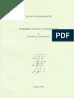 Probleme compilate si rezolvate de geometrie si trigonometrie, de F.Smarandache