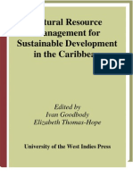 Natoural Resource Management for Sustainable Development in the Caribberan