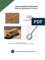 TODAY'S EINSTEIN'S RELATIVITY PROCEEDINGS OF CONFERENCE (18 FEB 2005), by H.Tilton, F.Smarandache