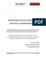 Programacion Empresa e Iniciativa Emprendedora Asir