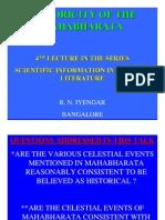 Historicity of Krishna & MBh