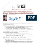 12-01-15 Sheriff Mack, Paypal and First Amendment rights oppression... Setting the ground for an inglorious civil unrest!