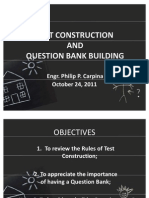 Test Construction