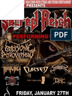 A show with SACRED REICH