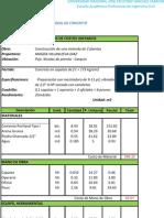 Analisis de Costo Ideal)