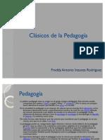 Clásicos de la Pedagogía