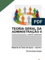 2ADM - TEORIA GERAL ADMINISTRAÇÃO 2 - material de apoio - Volume 1
