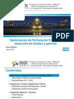SIMIN 2007 - Optimización de la Perforación