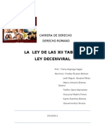 Ley de Las XII Tablas-Ley Dec en Viral