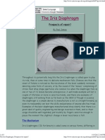 The Iris Diaphragm