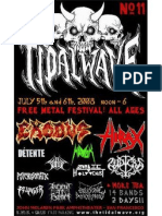 Tidal Wave Fest w/ EXODUS