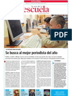 Premio Mejor Periodista Infantil y Juvenil 2012
