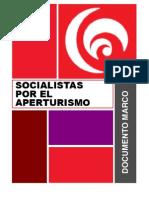 Documento Marco Socialistas Por El Aperturismo