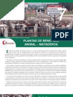 Plantas Beneficio Animal-mataderos