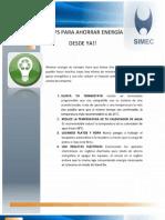10 Tips Para Ahorrar Energia Desde Ya