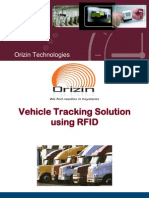 Vehicle Tracking Solution Using RFID