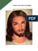 Description of How Was Jesus by Publius Lentulus