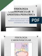 Fisiologia Cardiovascular y Anestesia Pediatric A