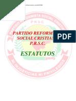 Estatuto Declara Principios Prsd