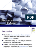 Pharma Industry BE