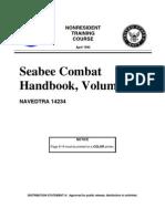 US Navy Course NAVEDTRA 14234 - Seabee Combat Handbook, Volume 1