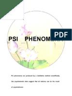 Pisith Vorasingha et al- Psi Phenomena