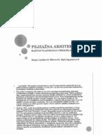 Pejizazna arhitektura - skripta