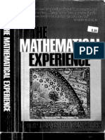 Davis, The Mathematical Experience