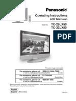 Manual Panasonic Tv Lcd