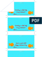 Goldfish Valentines courtesy of DimplePrints