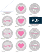 Valentines Topper TagSet Courtesy of DimplePrints