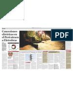 Concesiones eléctricas en el Perú atraen a Eletrobras