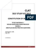 Clat 2012 Sample , Model Paper, Legal Reasoning, Legal Aptitude