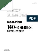 6D140-3 Shop Manual (SEBM022210) (1)