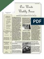 Newsletter Volume 4 Issue 03