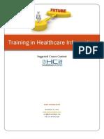HCit Healthcare IT Training Offer_2012